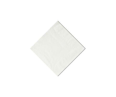 Serwetki cocktailowe, 24x24cm, składane 1/4, białe, 200szt