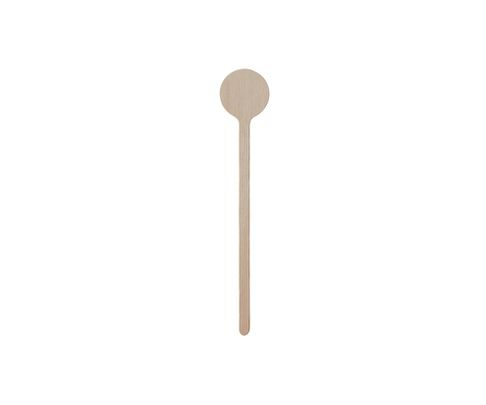 Mieszadełko drewniane 18 cm, okrągłe z miejscem na logo, op.500 sztuk