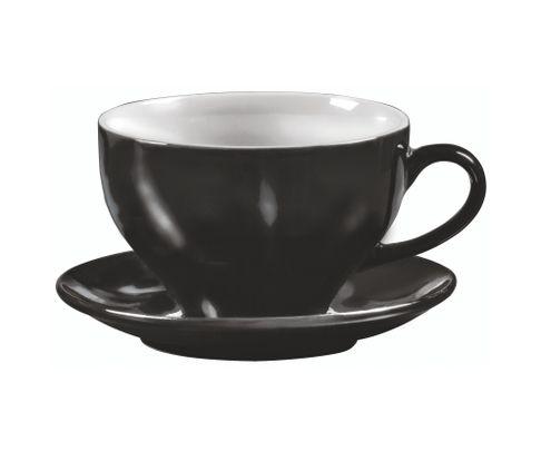 Filiżanka do latte Amico czarna 300ml (bez spodka)