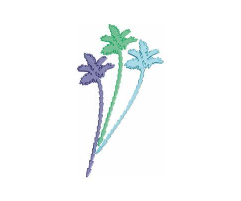 Mieszadełko (stirrer) Palma, mix kolorów, 18,5cm, 200szt