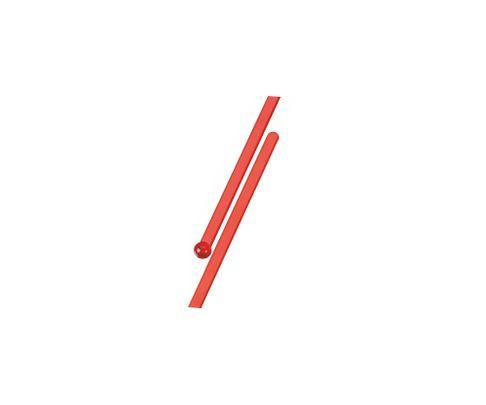 Mieszadełko (stirrer) proste, czerwone, 15,3cm, 500szt