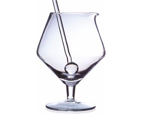 Szklanica barmańska Cubana na stopce z lejkiem 1000ml (bez mieszadełka)