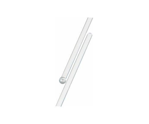 Mieszadełko (stirrer) proste, srebrne, 18,5cm, 200szt