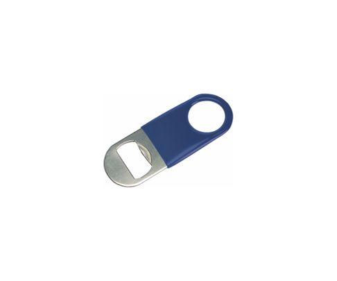 Otwieracz do butelek typu speed mini, okleina winylowa, niebieski