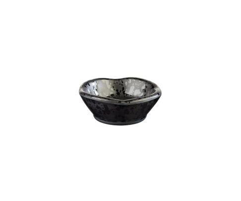 Miska z melaminy APS GLAMOUR 50ml, czarna, 8cm