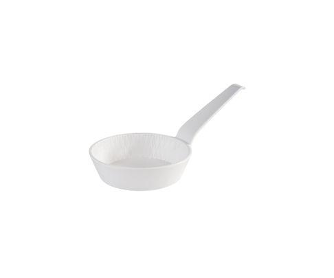 Patelnia do serwowania z melaminy APS MINI, biała, 70ml