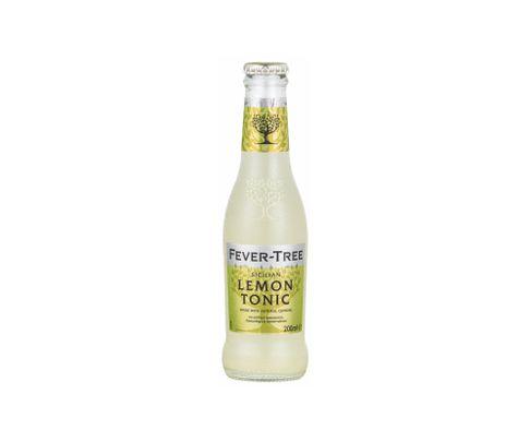 Fever Tree, napój Lemon Tonic, butelka 200ml