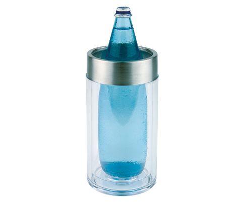 Cooler do alkoholi z akrylu, podwójna ścianka