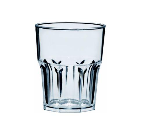 Szklanka niska z poliwęglanu Semi Glass 296ml