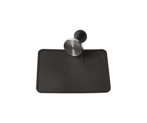 Mata pod tamper lub kolbę, gumowa, czarna 15x20cm
