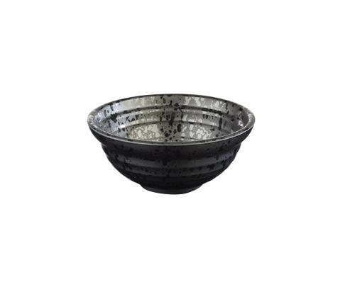 Miska z melaminy APS GLAMOUR 350ml, czarna, 12cm