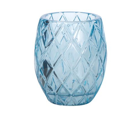 Świecznik Tealight Holder Votive niebieski, 10cm