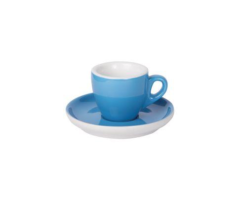 Filiżanka do espresso 55ml APS Colored Sets, ciemnoniebieska (ze spodkiem)