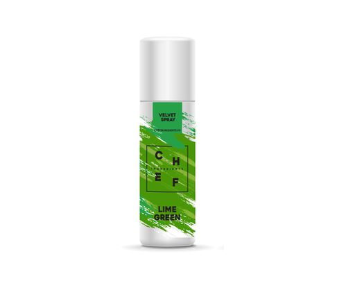 Barwnik zamszowy w sprayu Chef Ingredients (Velvet Spray) - zielona limonka 250ml