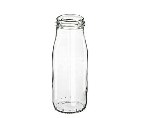 Butelka szklana 250ml do lemoniady, milkshaków, smoothies