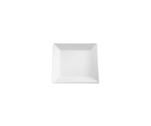 Półmisek z melaminy APS PURE, biały, kwa dratowy 18x18cm