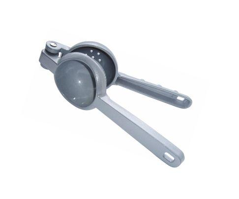 Wyciskacz ręczny do cytrusów, zamykany, srebrny, żeliwo cynkowe