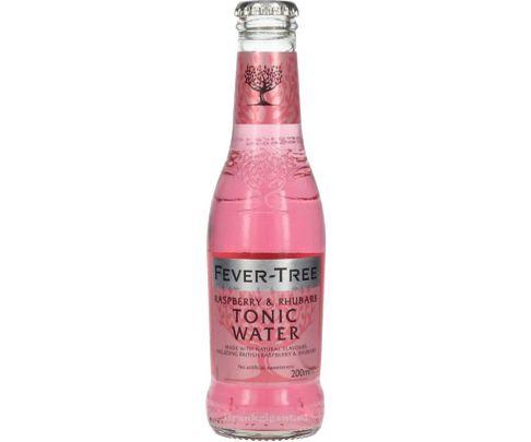 Fever Tree, Raspberry & Rhubarb Tonic. Water, butelka 200ml