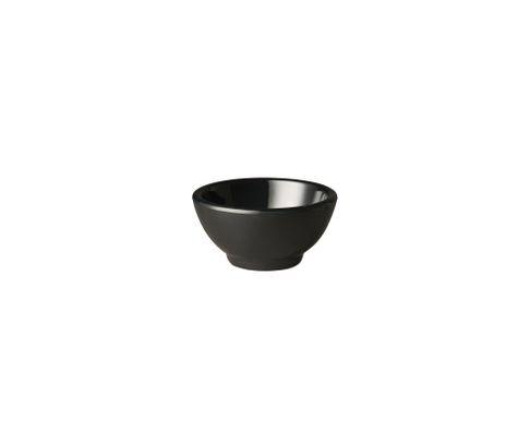 Miska z melaminy APS PURE 20ml, czarna, 5,5cm