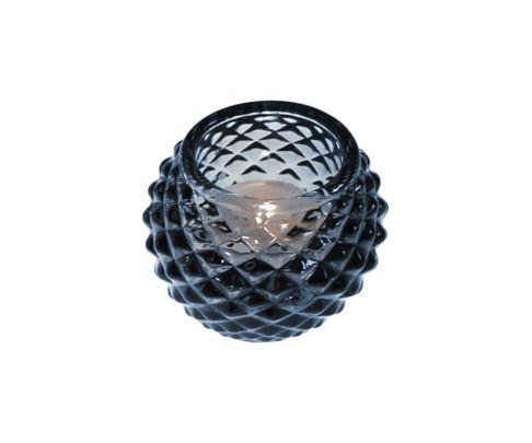 Świecznik Tealight Holder Bowl niebieski 6cm