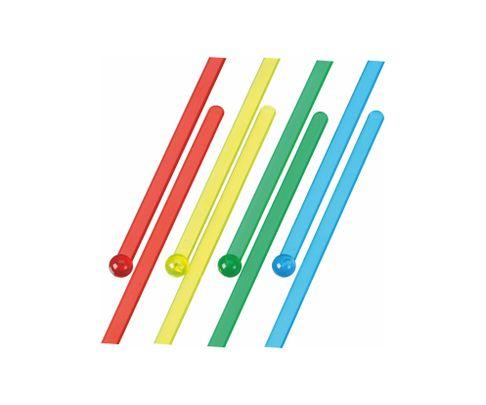 Mieszadełko (stirrer) proste, mix kolorów, 18,5cm, 500szt