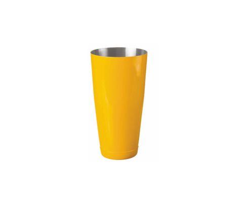 Shaker bostoński duży, lakierowany, żółty, 800ml (bez szklanicy)