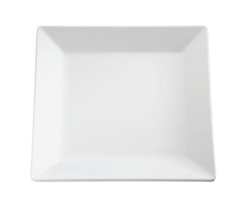 Półmisek z melaminy APS PURE, biały, kwa dratowy 51x51cm