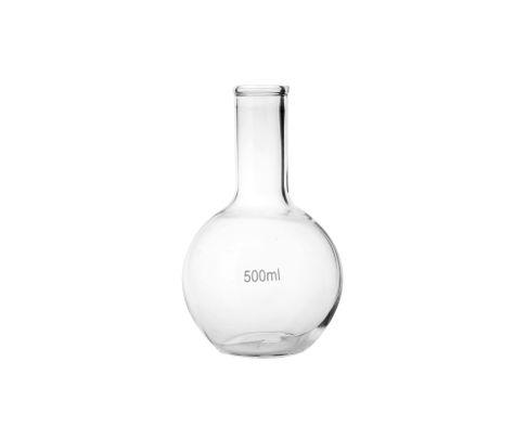 Butelka szklana, okrągła 500ml
