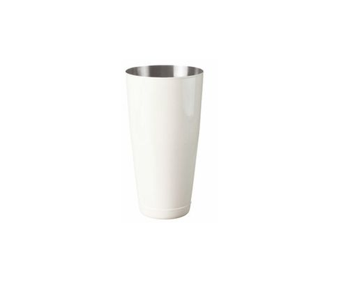 Shaker bostoński duży, lakierowany, biały, 800ml (bez szklanicy)