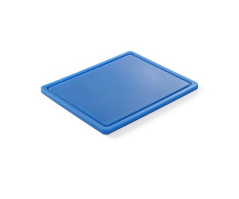 Deska do krojenia, niebieska, 32,5x26,5x1,8cm