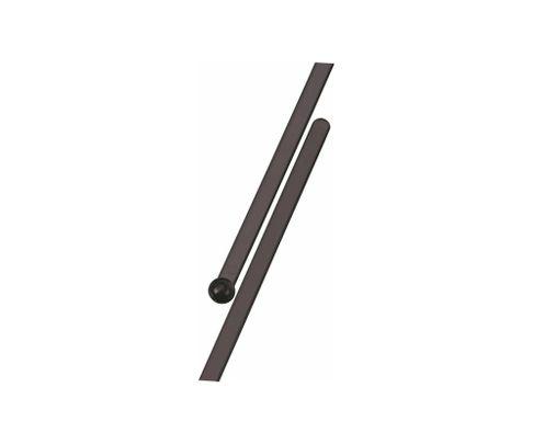 Mieszadełko (stirrer) proste, czarne, 18,5cm, 500szt