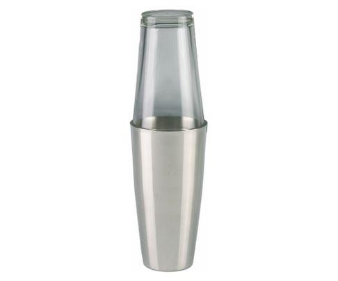 Shaker bostoński duży, bez obciążenia, polerowany, 800ml (bez szklanicy)