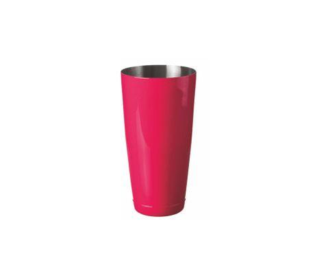 Shaker bostoński duży, lakierowany, różowy, 800ml (bez szklanicy)