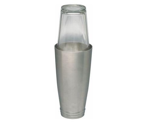 Shaker bostoński duży Delux, obciążony, matowe wykończenie, 800ml (bez szklanicy)