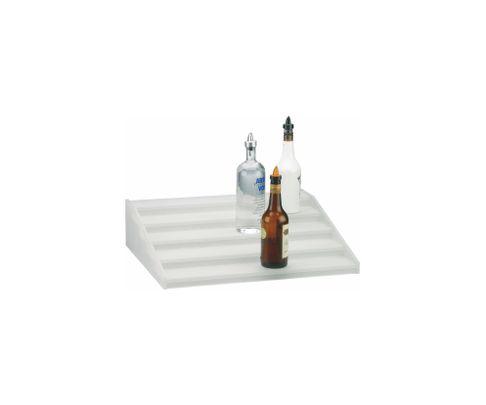 Regał na butelki (kaskada), 5 stopni, akrylowy, 50x60x15cm