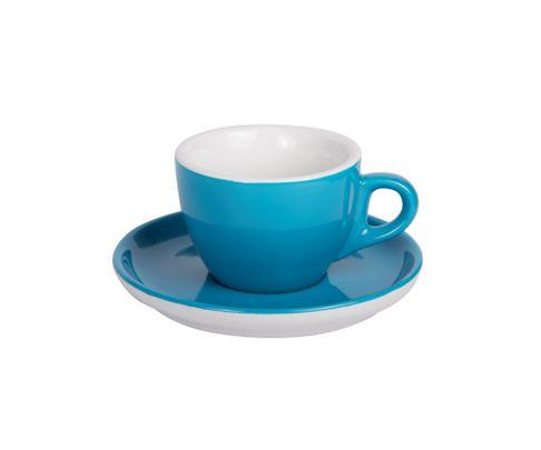 Filiżanka do cappucino 160ml APS Colored Sets, kolor morski (ze spodkiem)