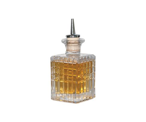 Dash bottle, szklana, kwadratowa, 100ml