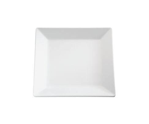 Półmisek z melaminy APS PURE, biały, kwadratowy 37x37cm