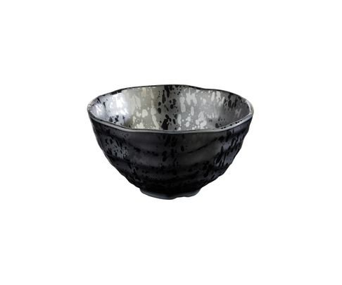 Miska z melaminy APS GLAMOUR 700ml, czarna, 15cm