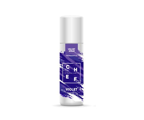 Barwnik zamszowy w sprayu Chef Ingredients (Velvet Spray) - fioletowy 250ml