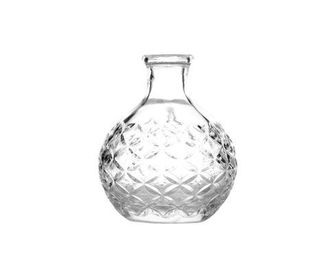 Dash bottle Japan, szklana, okrągła 200ml