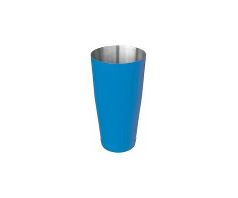 Shaker bostoński duży, lakierowany, niebieski, 800ml (bez szklanicy)