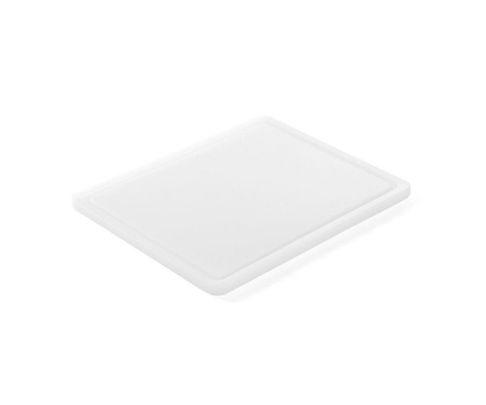 Deska do krojenia, biała, 32,5x26,5x1,8cm