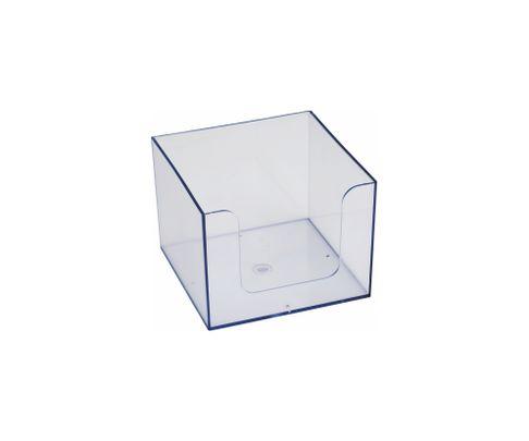 Pojemnik na serwetki, bezbarwny, 14x14x10cm