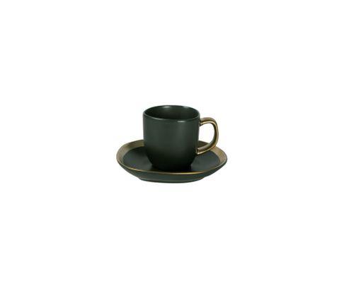 Filiżanka do espresso 80ml APS Dynasty (ze spodkiem)