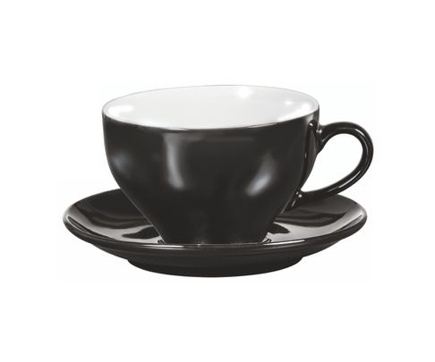 Filiżanka do cappucino Amico czarna 200ml (bez spodka)