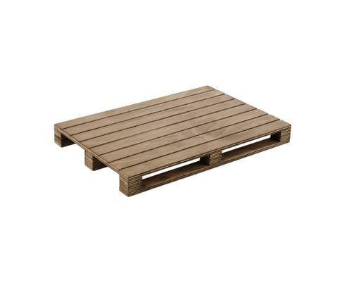 Paleta do serwowania potraw 30x20cm, drewniana