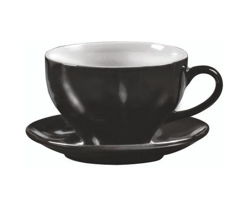 Filiżanka do latte Amico Grande czarna 450ml (bez spodka)