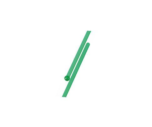 Mieszadełko (stirrer) proste, zielone, 15,3cm, 500szt