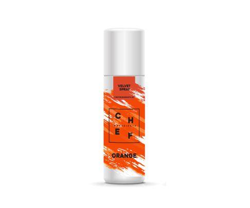 Barwnik zamszowy w sprayu Chef Ingredients (Velvet Spray) - pomarańczowy 250ml